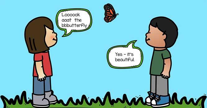εξελικτικός τραυλισμός - να δίνετε χρόνο στο παιδί να ολοκληρώσει αυτό που θέλει να πει, παρά τα όποια μπλοκαρίσματα μπορεί να παρουσιάζει